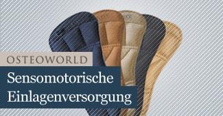 Osteopathie Frankfurt Sensomotorische Einlagen
